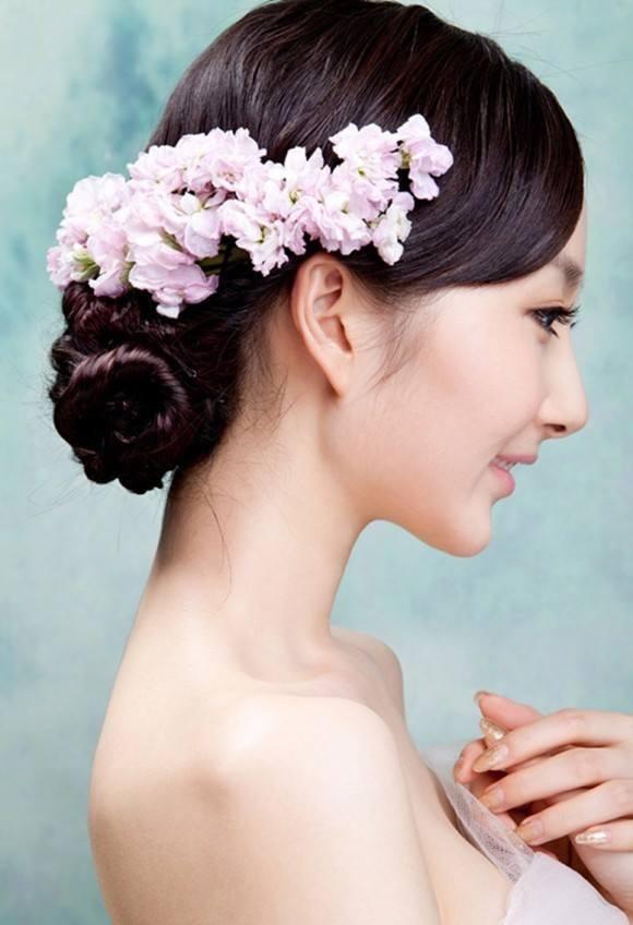 Phụ kiện cài tóc hoa tươi mãi mãi