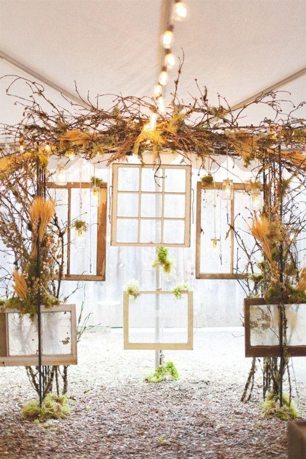 Backdrop tone Safari Trang Trí tiệc cưới