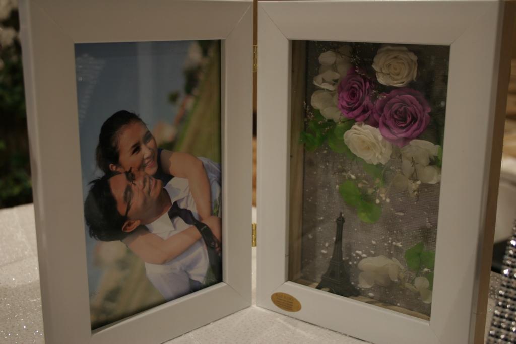 Khung Hình hộp 3D Hoa tươi mãi Mãi