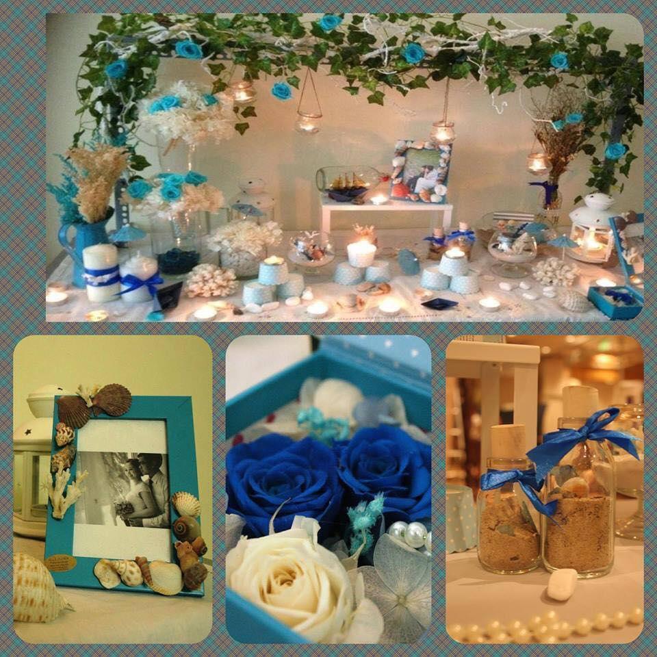 Trang Trí tiệc cưới phong cách biển