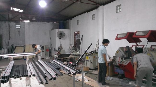 Xưởng nhôm định hình