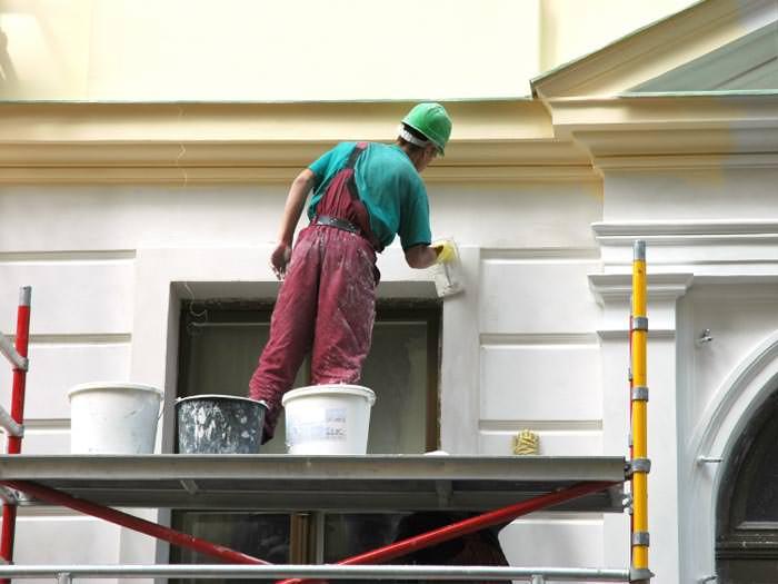 Dịch vụ thi công sơn nhà đẹp