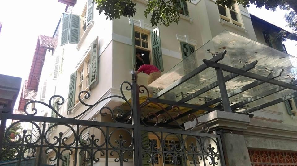 Xây nhà trọn gói - Biệt thự tại Thạch Bàn