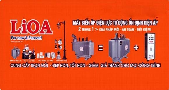 ỔN ÁP LIOA 3 PHA 380V/200V-220V-380V