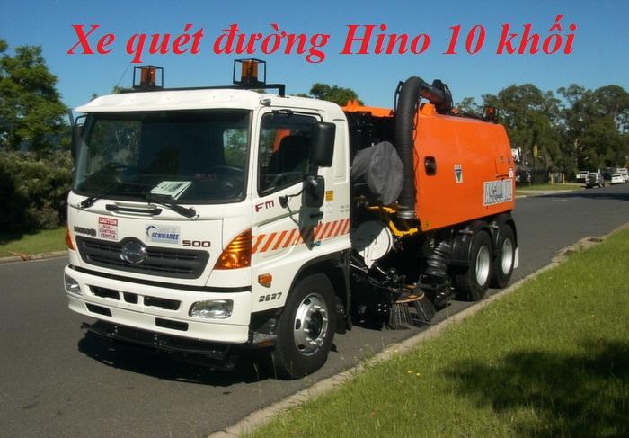 xe quét hút bụi chuyên dụng chất lượng cao