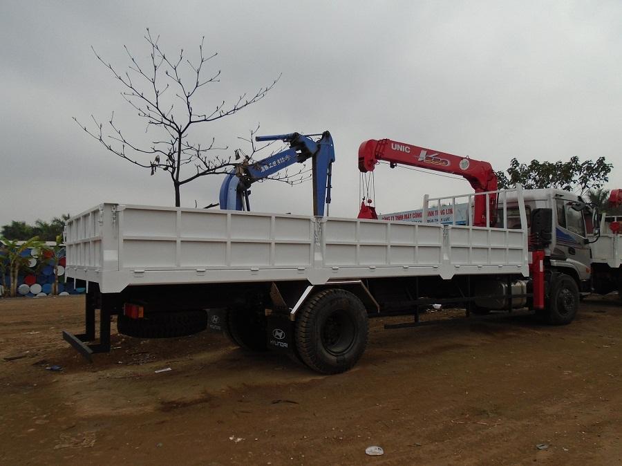Bán xe tải cẩu trường giang 8 tấn
