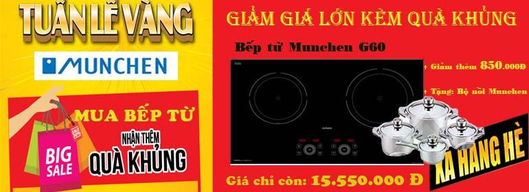 bếp từ Munchen G60 giảm giá