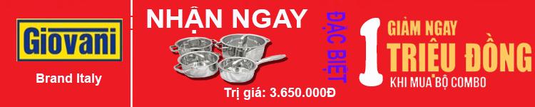 bếp điện từ Giovani nhập khẩu