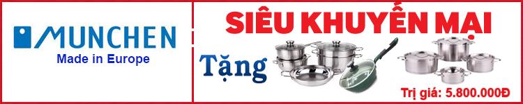 bếp từ Munchen nhập khẩu