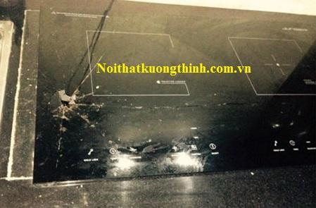 Nguyên nhân và giải pháp cho mặt kính bếp từ bị vỡ