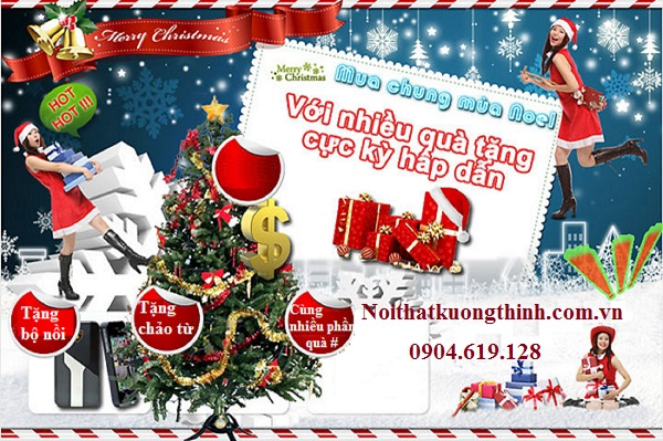 Siêu khuyến mại khi mua bếp từ Dmestik mùa Noel