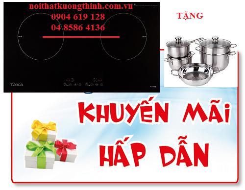 Tưng bừng khuyến mại bếp từ Taka