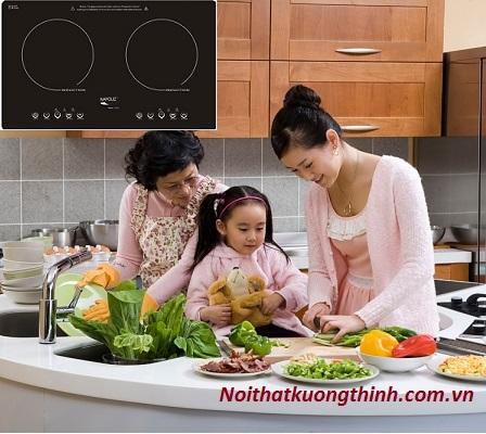 Bếp từ Napoliz ITC2V lựa chọn số 1 của các bà nội trợ