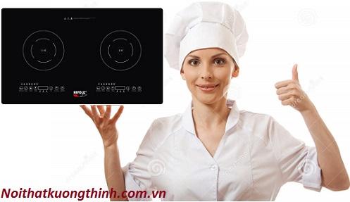 Bếp từ Napoliz NA 20C12 tận hưởng không gian nhà bếp tinh tế