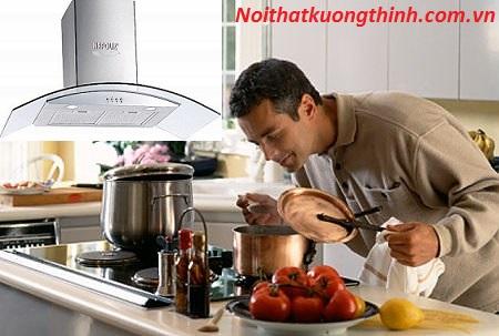 Máy hút mùi Napoliz NA 090HC điểm nhấn cho không gian bếp nhà bạn