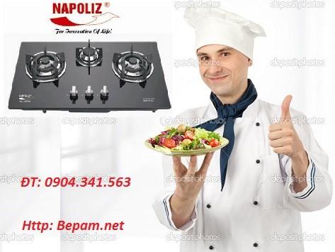 Bếp ga Napoliz sử dụng tiết kiệm ga