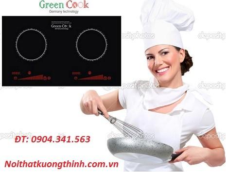 Bếp từ Green Cook GCH6 tối ưu hóa công việc nấu nướng của bạn