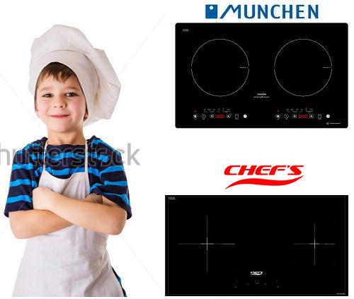 Bếp từ Munchen G60 đối đầu bếp từ Giovani G 22T: Không cân sức