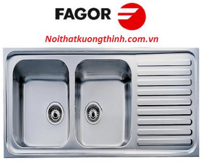 Chậu rửa bát Fagor kiểu dáng đẹp lôi cuốn được nhiều gia đình sử dụng