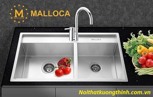 Chậu rửa bát Malloca mang đậm vẻ đẹp Châu âu