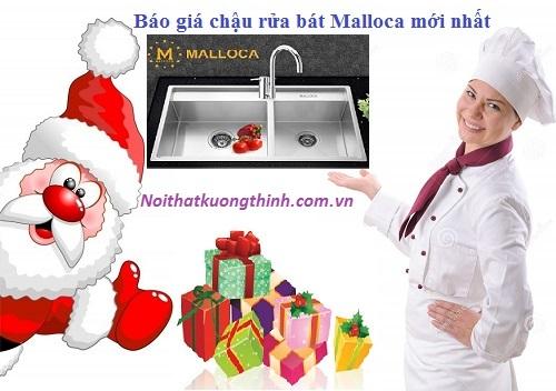 Báo giá chậu rửa bát Malloca mới nhất