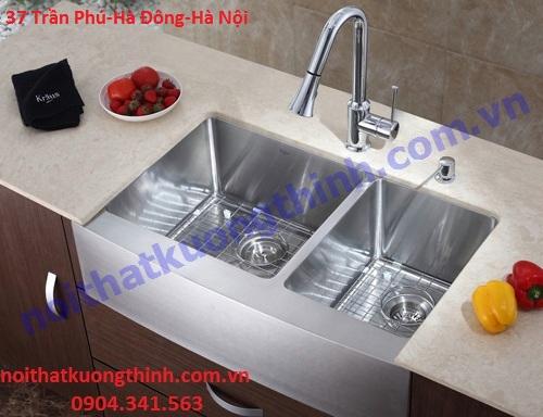 Đại lý chậu rửa bát inox uy tín tại Hà Nội