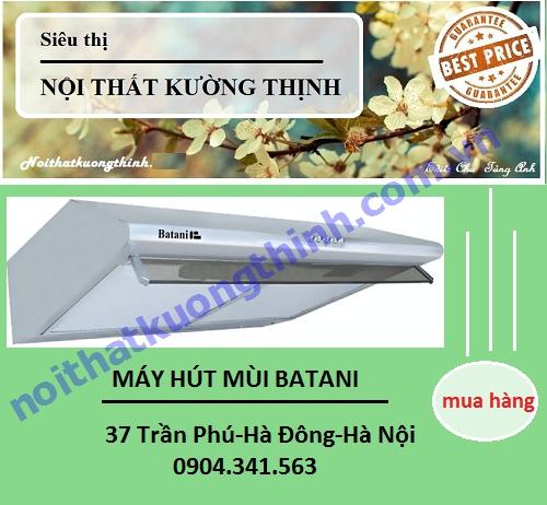 Đại lý cung cấp máy hút mùi Batani uy tín tại Hà Nội
