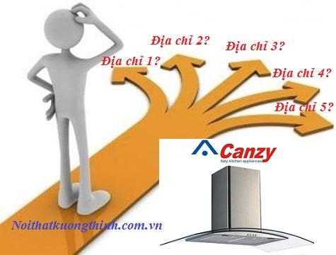 Địa chỉ bán máy hút mùi Canzy Cz 3388-70 giá rẻ