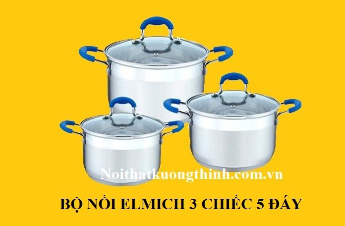 Tặng bộ nồi Elmich khi mua bếp từ Taka I 02C2