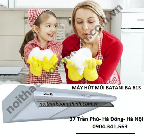 Vệ sinh máy hút mùi Batani BA 61S sao cho đúng cách