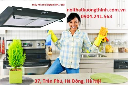 Vệ sinh máy hút mùi Batani BA 71M sao cho đúng cách