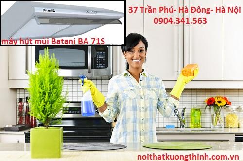 Vệ sinh máy hút mùi Batani BA 71S sao cho đúng cách