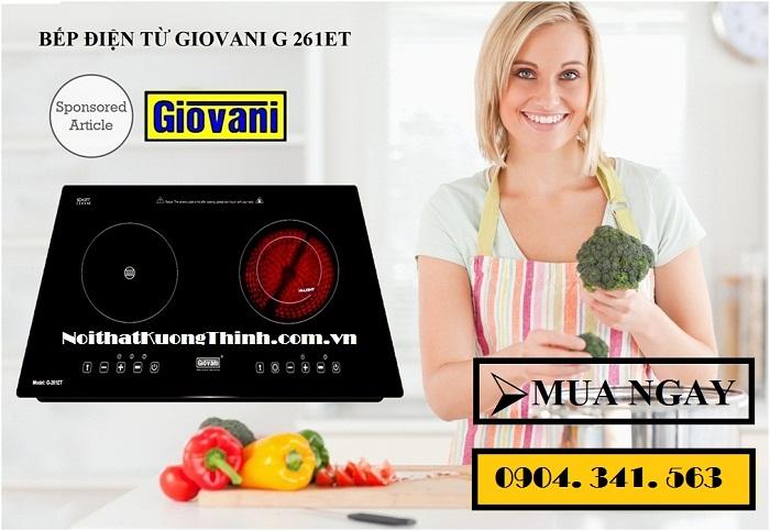 Bếp điện từ Giovani dùng có tốt không?