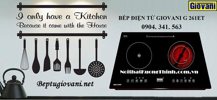 Bếp điện từ Giovani nhập khẩu chính hãng