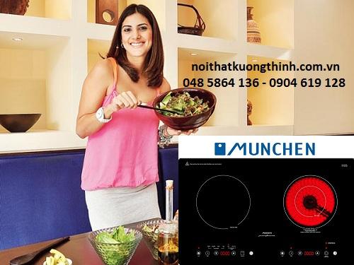 Bếp điện từ Munchen chất lượng có tốt không?