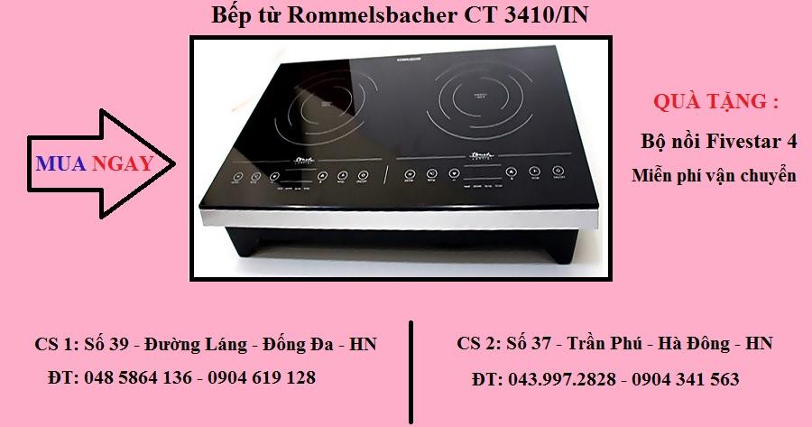 Bếp từ Rommelsbacher CT 3410/IN có nguồn gốc từ đâu ?