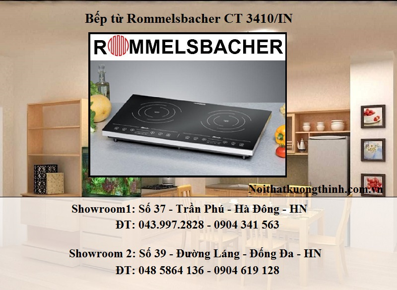 Bếp từ Rommelsbacher CT 3410/IN rất an toàn