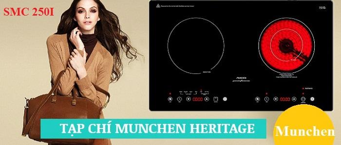 Model bếp điện từ Munchen mới nhất của Đức