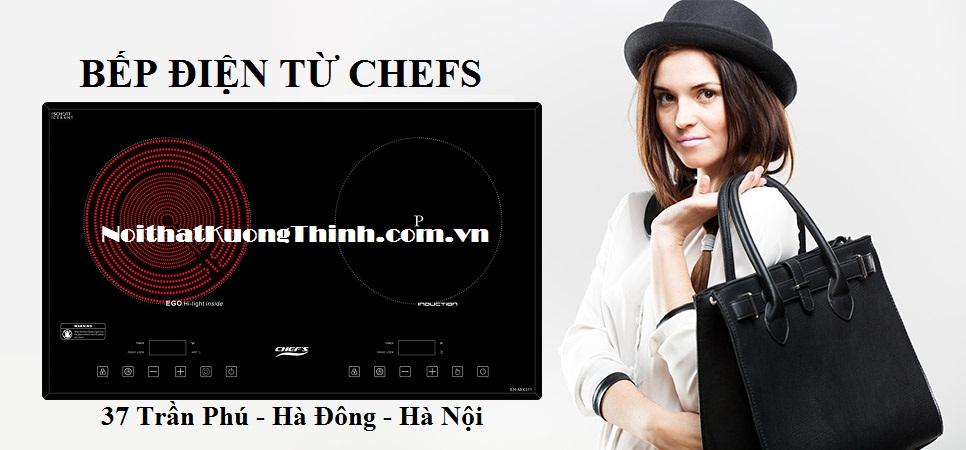 bếp điện từ chefs dùng tốt
