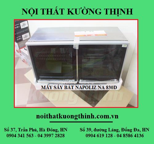 Khuyến mãi giảm giá máy sấy bát Napoliz NA 830D cực sốc