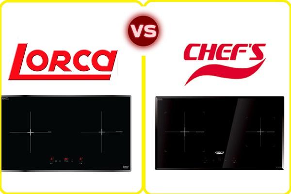 Bếp từ lorca vs bếp từ chefs