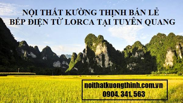 địa chỉ mua bếp điện từ Lorca tại Tuyên Quang