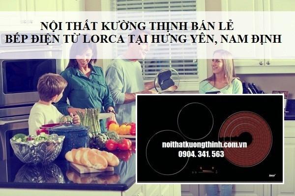 bếp điện từ Lorca có rất nhiều ưu điểm