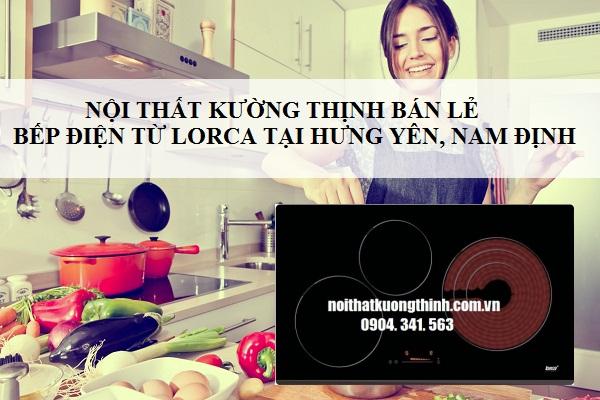 Nội thất Kường Thịnh bán lẻ bếp điện từ Lorca tại Hưng Yên, Nam Định