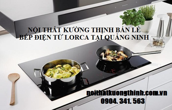 bếp điện từ Lorca rất tiết kiệm điện năng