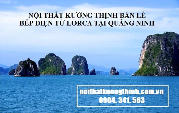 địa chỉ mua bếp điện từ Lorca tại Quảng Ninh