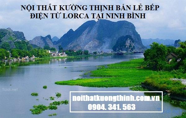 Địa chỉ mua bếp điện từ Lorca tại Ninh Bình