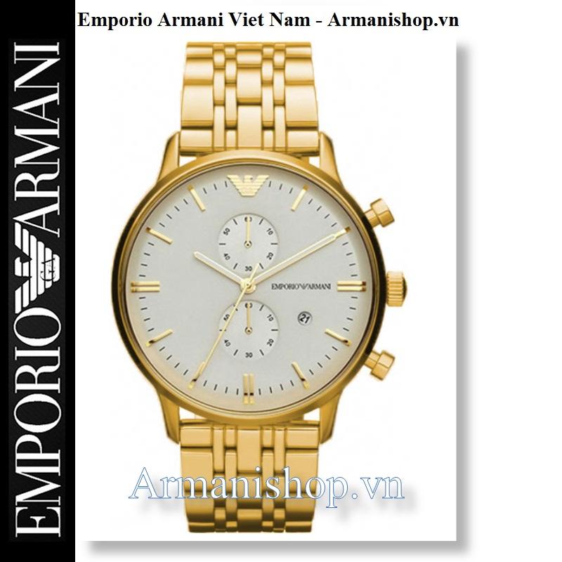Đồng hồ Nam cao cấp hiệu Armani chính hãng AR0386G - Armanishop.vn