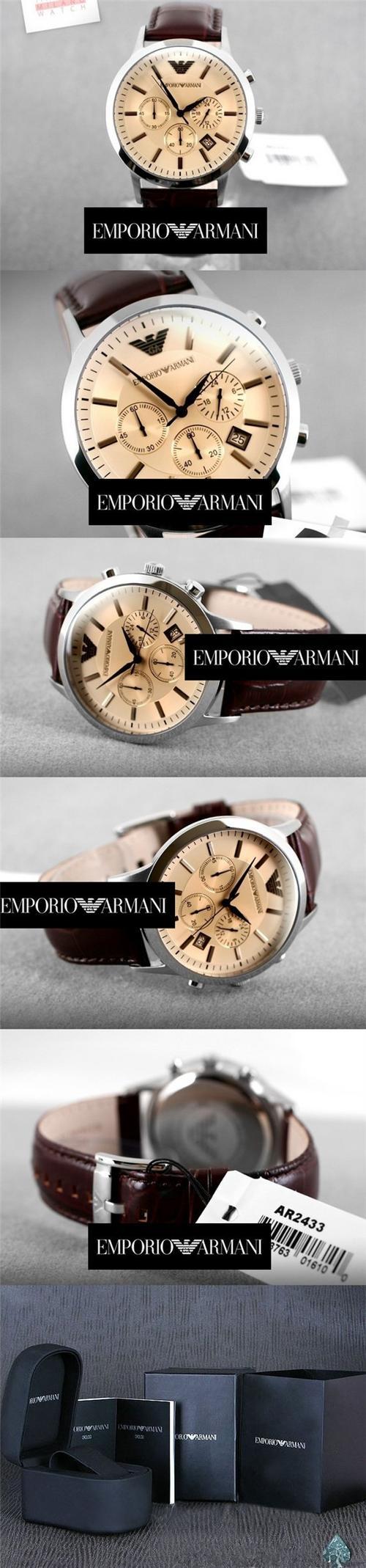 Đồng hồ Armani chính hãng AR2433 dành cho Nam tại Armanishop.vn