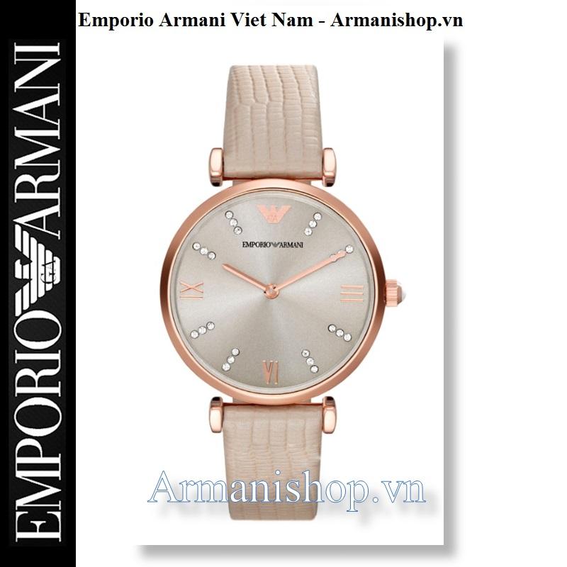 Đồng hồ Armani chính hãng AR1681 dành cho Nữ tại Armanishop.vn